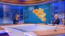 RTL INFO 13H : Le point de Vanessa Matagne à propos de l'alerte jaune de l'IRM