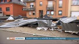 RTL INFO 19H : Nettoyage et réparations au Grand-Duché après la tornade