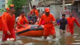 RTL INFO 19H : Inondations meurtrières en Inde suite aux pluies de la mousson