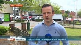 RTL INFO 13H : Dernières infos après la mort de 2 pompiers à Beringen