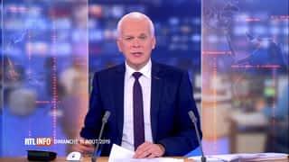 RTL INFO 13H : RTL INFO 13 heures (11/08/2019)
