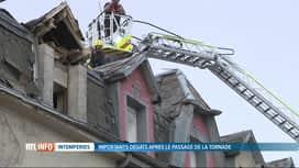 RTL INFO 19H : Tornade au Luxembourg: après le choc, l'heure est aux réparations