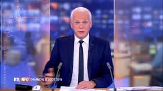RTL INFO 19H : RTL INFO 19 heures (11/08/2019)