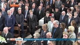 RTL INFO 13H : Les funérailles de Bjorg Lambrecht ont eu lieu ce matin à Knesselare