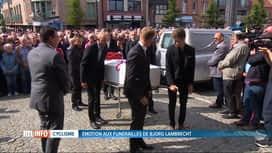 RTL INFO 13H : Funérailles de Bjorg Lambrecht à Knesselare: tout un village en deuil