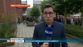 RTL INFO 13H : Funérailles de Bjorg Lambrecht: le point avec Nathanaël Pauly