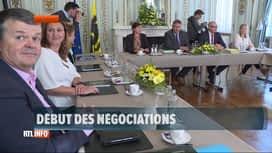 RTL INFO 13H : Formation flamande: les négociations ont débuté ce matin