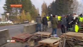 RTL INFO 19H : Charleroi: un gilet jaune écope de 30 mois de prison ferme