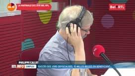 RTL INFO sur Bel RTL : RTL Info 8h du 14/08