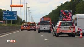RTL INFO 19H : Un ouvrier décède, percuté par une voiture sur la E42