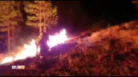 RTL INFO 13H : Grande Canarie : les pompiers espèrent maîtriser l'incendie cette nuit