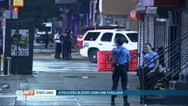 RTL INFO 13H : USA : un homme ouvre le feu sur des policiers et en blesse six