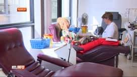 RTL INFO 13H : La Croix-Rouge est la recherche de donneurs de sang