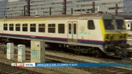 RTL INFO 19H : SNCB : à peine la moitié des trains circuleront samedi