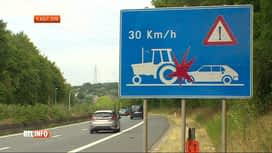 RTL INFO 19H : N25 interdite aux tracteurs: la FWA introduit un recours