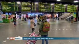RTL INFO 13H : Grève à la SNCB: pas de grosses perturbations constatées