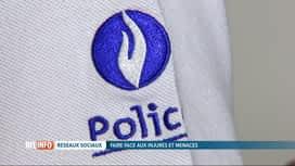 RTL INFO 19H : La police liégeoise s'attaque aux incivilités sur les réseaux sociaux