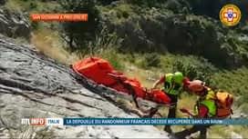 RTL INFO 19H : Disparition de Simon Gautier en Italie: son corps sans vie découvert