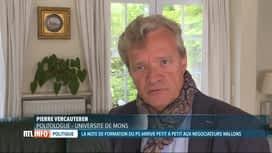 RTL INFO 19H : Négociations en Wallonie: analyse de Pierre Vercauteren