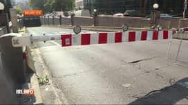 RTL INFO 13H : Le tunnel Belliard fermé suite à un problème de ventilation