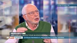 RTL INFO 19H : 6 Belges sur 10 seraient favorables au revenu universel de base