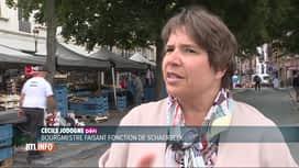 RTL INFO 19H : Le toit d'une carrosserie a pris feu à Schaerbeek