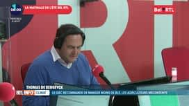 La matinale Bel RTL : RTL Info 8h du 21/08