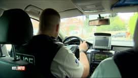 RTL INFO 19H : Cet accident pose la question de la conduite des patrouilles de police
