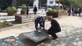 RTL INFO 19H : Cérémonie du souvenir aux victimes du terrorisme ce matin à Bruxelles