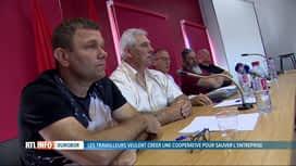 RTL INFO 13H : Des travailleurs de Durobor projettent de racheter leur entreprise