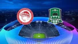 Champions League : 21/08: Olympiacos - Krasnodar