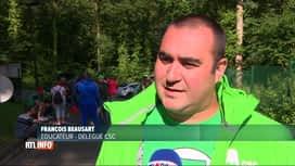 RTL INFO 19H : Les éducateurs de l'IPPJ de Wauthier-Braine sont en grève