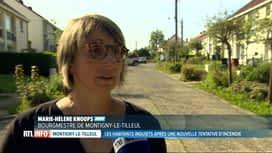 RTL INFO 19H : Un pyromane inquiète les habitants de Montigny-le-Tilleul