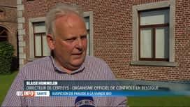 RTL INFO 19H : De la viande faussement bio aurait été vendue en Belgique