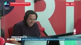 RTL INFO sur Bel RTL : RTL Info 8h du 23/08