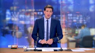 RTL INFO 13H : RTL INFO 13 heures (23/08/2019)