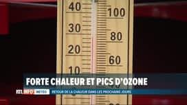 RTL INFO 19H : Chaleur et pics d'ozone attendus en Belgique les prochains jours