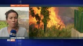 RTL INFO 19H : Violent incendie dans un entrepôt du groupe Mestdagh à Jumet