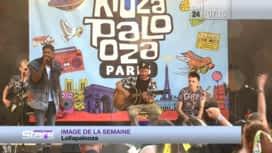 Absolument Stars : Image de la semaine : Gims & Sting - Festival Lolapalooza