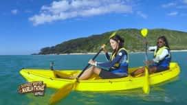 Les aventures de Nabilla et Thomas en Australie : Activité kayak et dauphins