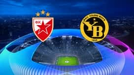 Champions League : 27/08: Etoile rouge - Young Boys (les buts)