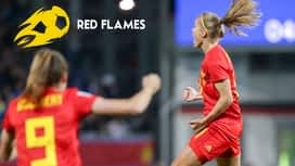 Red Flames en replay