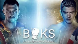 Boks: Lomachenko vs Campbell