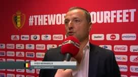 Red Flames : 29/08: Ives Serneels (Sélectionneur des Belgian Red Flames)
