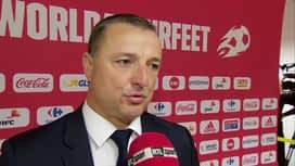 Red Flames : 03/09 Après-match: Ives Serneels (BEL-CROA)