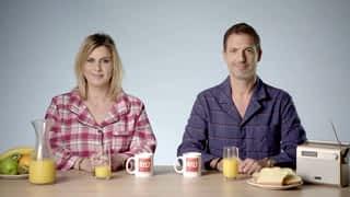 Le Double Expresso RTL2 : Le Double Expresso RTL2 avec Grégory Ascher et Justine Salmon