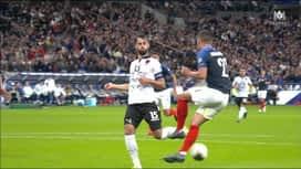 Qualification pour l'UEFA EURO 2020 : France - Albanie (36') : Penalty pour les Bleus (2-0)