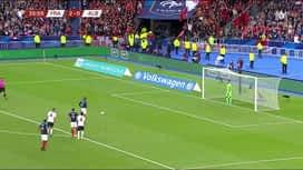 Qualification pour l'UEFA EURO 2020 : France - Albanie (37') : Penalty manqué pour Griezmann (2-0)