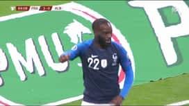 Qualification pour l'UEFA EURO 2020 : France - Albanie (85') : But de Jonathan Ikoné (4-0)