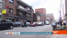RTL INFO 19H : Un contrôle de police tourne mal à Liège: un policier entre la vie ...